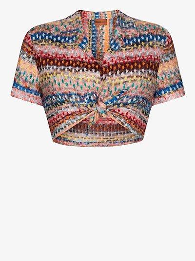 crochet knit crop top