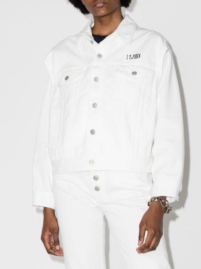 convertible denim jacket