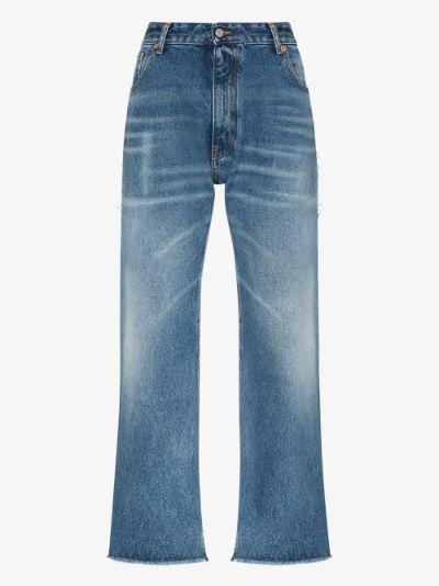 straight leg boyfriend jeans
