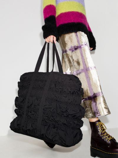 Black Kyoto Bumpy tote bag