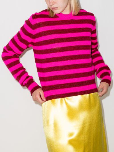 flavin striped wool sweater