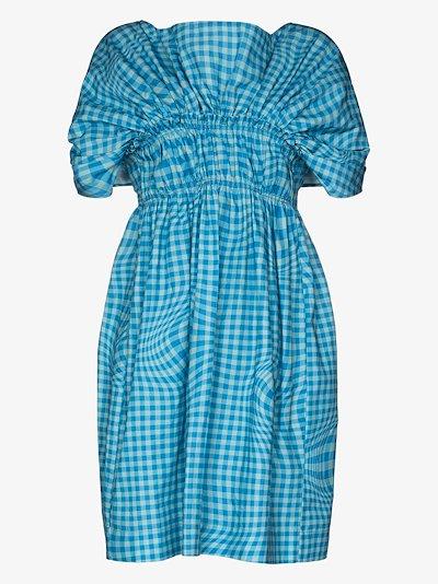 X Browns 50 Corinna gingham mini dress