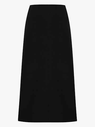 2 Moncler 1952 high waist midi skirt