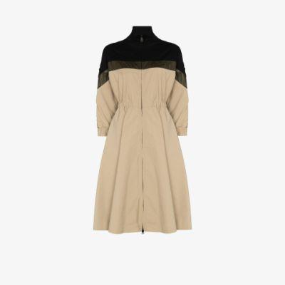 Abito technical shell midi dress