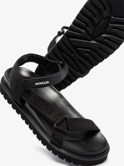 Black Flavia sandals