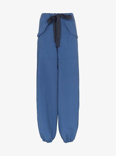 drawstring fastening track pants