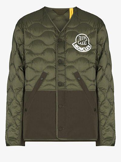 2 Moncler 1952 Iskar quilted down liner jacket