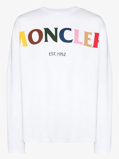 2 Moncler 1952 rainbow logo T-shirt
