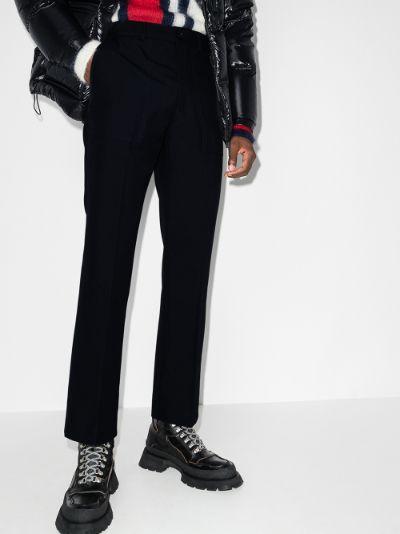 2 Moncler 1952 straight leg trousers