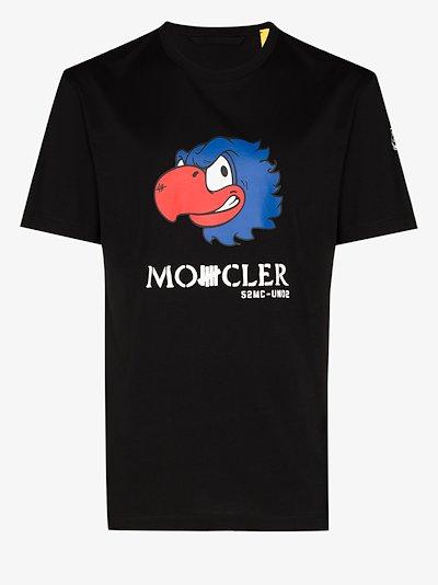 2 Moncler 1952 Undefeated bird print T-shirt