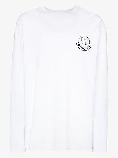 2 Moncler 1952 Undefeated logo T-shirt