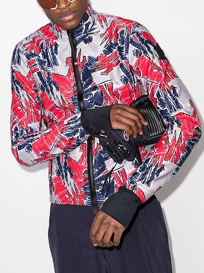 3 Moncler Grenoble graphic zip sweater