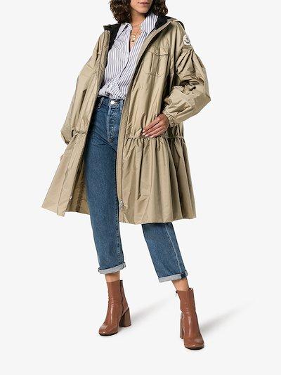 4 Moncler Simone Rocha Ellen bow waist jacket