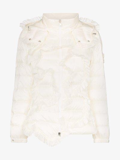 4 Moncler Simone Rocha ruffled puffer jacket