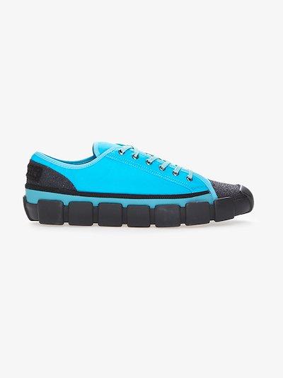 5 Moncler Craig Green blue Bradley sneakers