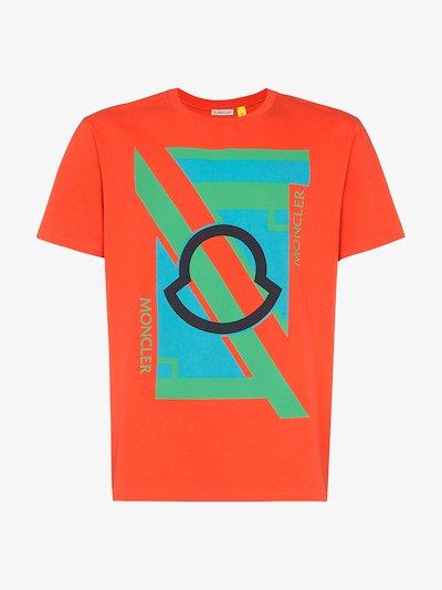 5 Moncler Craig Green Graphic logo T-shirt