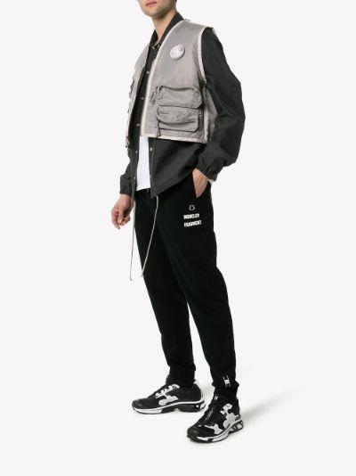 7 Moncler Fragment logo cotton sweatpants