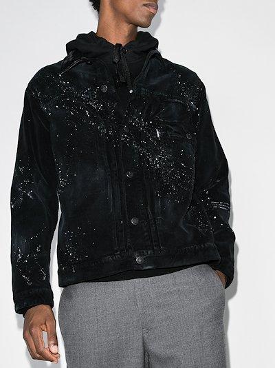 7 Moncler Fragment printed corduroy jacket
