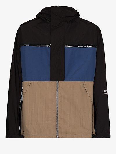 7 Moncler Fragment Warren colour block jacket