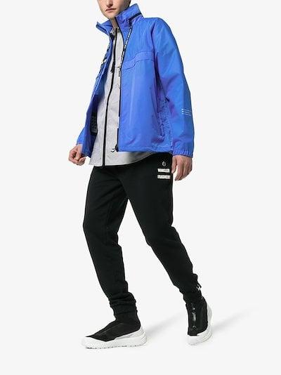 7 Moncler Fragment zip front jacket
