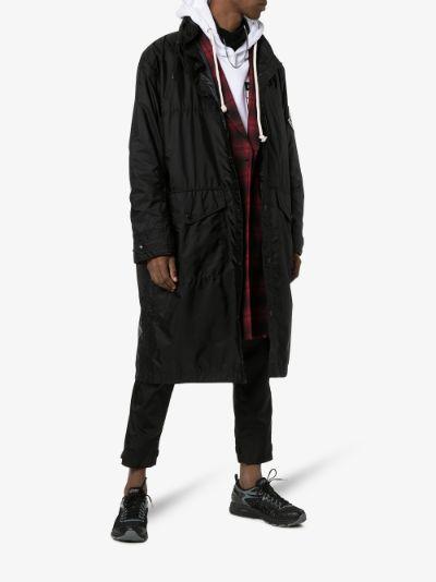 hooded parka coat