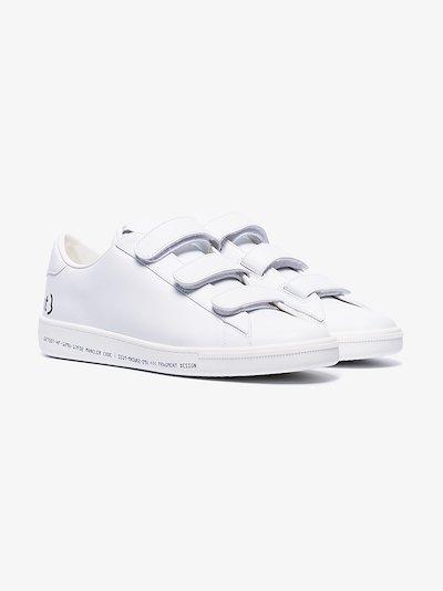 white 7 Moncler Fragment Velcro logo sneakers