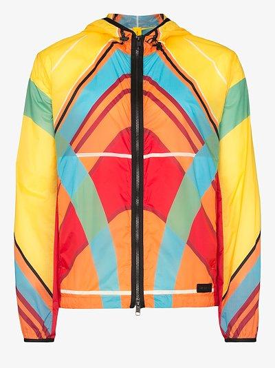 X Craig Green Spinner hooded jacket
