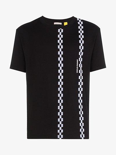 X Fragment Chains Cotton T-Shirt