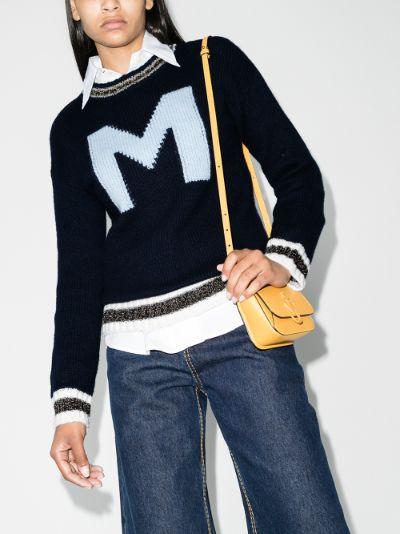 Girocollo logo sweater