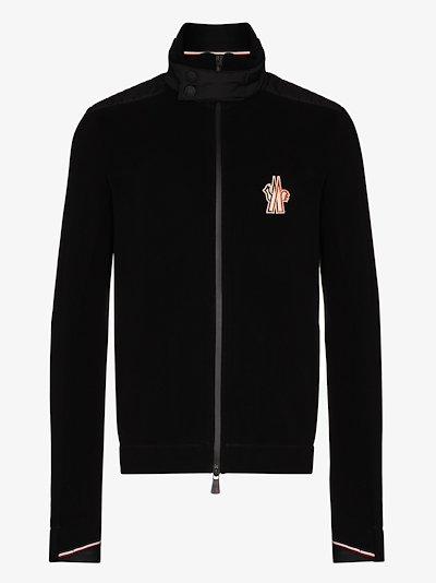 black Maglia Technical Fleece jacket