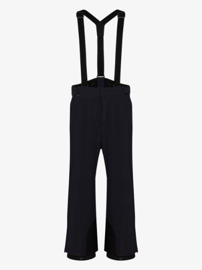 navy bib ski trousers