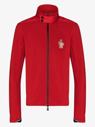 red Maglia zip-up jacket
