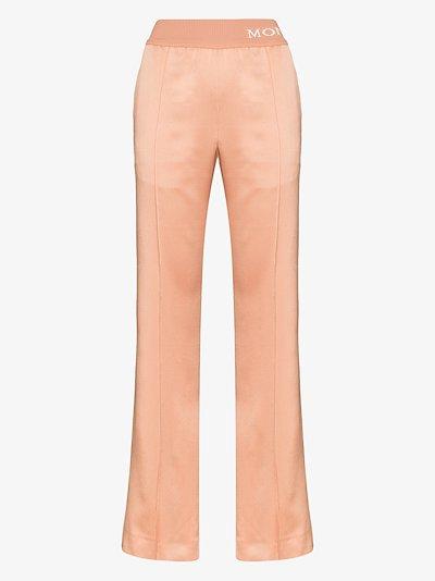 logo waist track pants