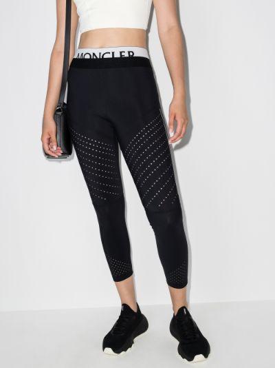 logo waistband leggings
