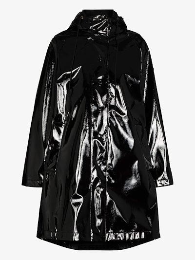 Pott vinyl hooded coat