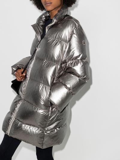 Cyclopic padded coat