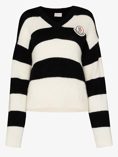 Scollo striped sweater