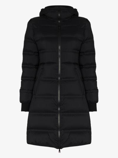 Spectrum hooded puffer coat