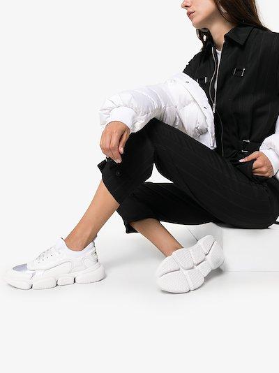 white briseis low top sneakers