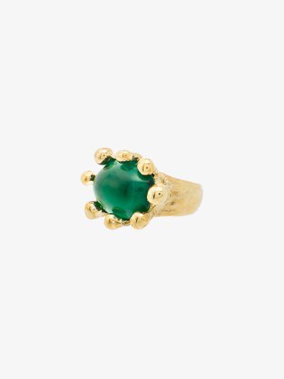 gold tone Diva ring