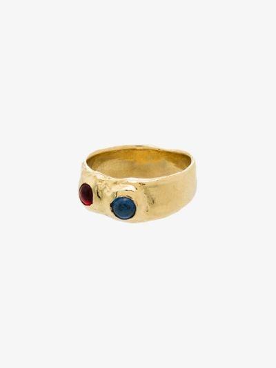 gold tone Felt ring