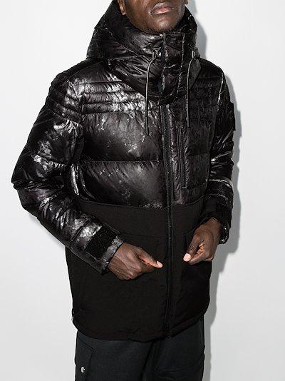 Clanton hooded padded jacket