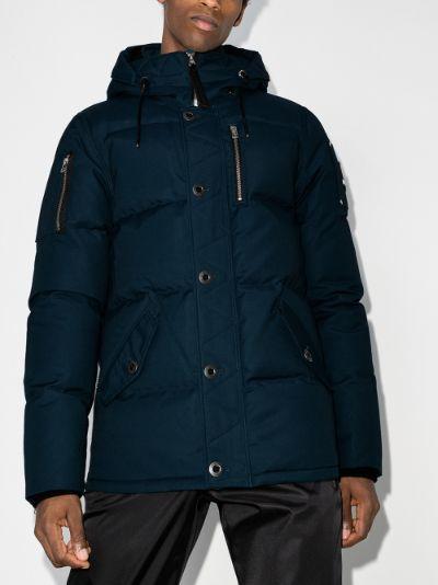 Forrestville hooded padded jacket