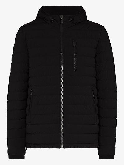 Fullcrest hooded down jacket