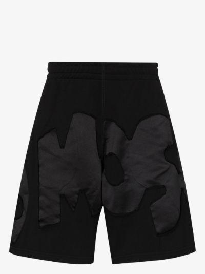 Appliqué logo track shorts