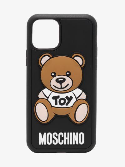 Black Teddy Bear iPhone 11 Pro Max Case