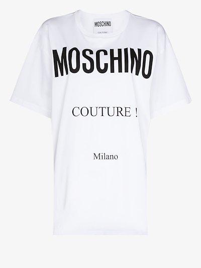 Couture Logo Print T-shirt