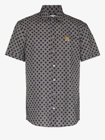polka dot cotton shirt