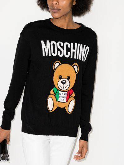 Teddy Bear wool sweater