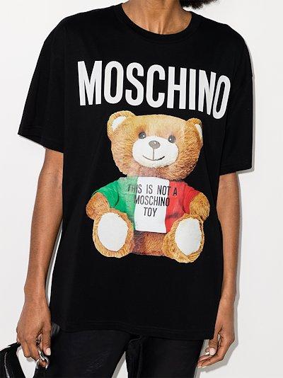 Teddy Logo print T-shirt